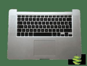661-6532-Fr TopCase Apple MacBook Pro 15 pouces Retina A1398 clavier Azerty (Français) 2012 -2013_BestInMac