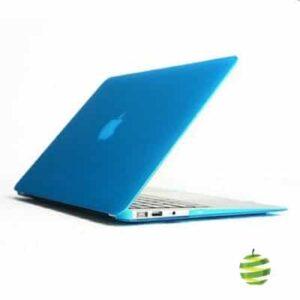 Coque de protection intégrale rigide mate pour MacBook Air 13 Pouces A1369 et A1466 - Bleue