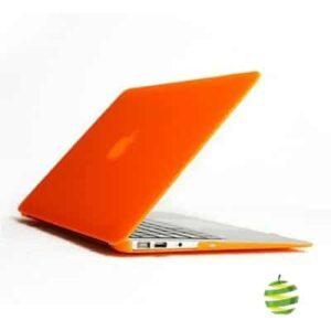Coque de protection intégrale rigide mate pour MacBook Air 13 Pouces A1369 et A1466 - Orange