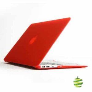 Coque de protection intégrale rigide mate pour MacBook Air 13 Pouces A1369 et A1466 - Rouge