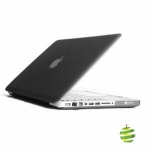 Coque de protection intégrale rigide mate pour MacBook Pro Unibody 13 Pouces A1278 (2009/2012)- Noire