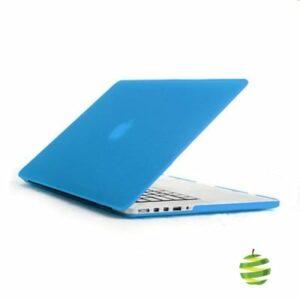 Coque de protection intégrale rigide mate pour MacBook Pro Rétina 13 Pouces A1502 et A1425 (2012/2015) - Bleue