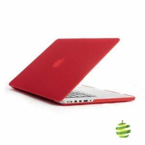 Coque de protection intégrale rigide mate pour MacBook Pro Rétina 13 Pouces A1502 et A1425 (2012/2015)- Rouge
