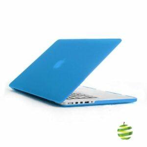 Coque de protection intégrale rigide mate pour MacBook Pro Rétina 15 Pouces A1398 (2012/2015)- Bleue