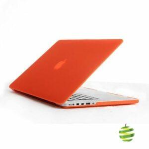 Coque de protection intégrale rigide mate pour MacBook Pro Rétina 15 Pouces A1398 (2012/2015)- Orange