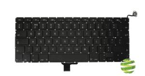 604-2948 Clavier Qwerty (US-EN) pour MacBook Pro 13 pouces A1278 (2009-2012)