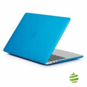 Coque de protection intégrale rigide mate pour MacBook Pro Rétina 13 Pouces A1706 et A1708 (2016/2017) - Bleue