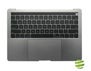 "661-05333 Topcase avec batterie MacBook Pro Retina 13"" A1706 TouchBar clavier Qwerty (US) Space Gray_1_BestInMac"