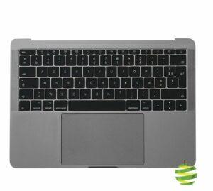 661-07946-FR Topcase MacBook Pro 13 pouces gris sidéral A1708 avec batterie_BestInMac