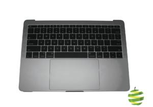 """661-07946 Topcase MacBookPro 13"""" Retina A1708 avec batterie et clavier Qwerty (US) Gris Sidéral _1_BestInMac"""