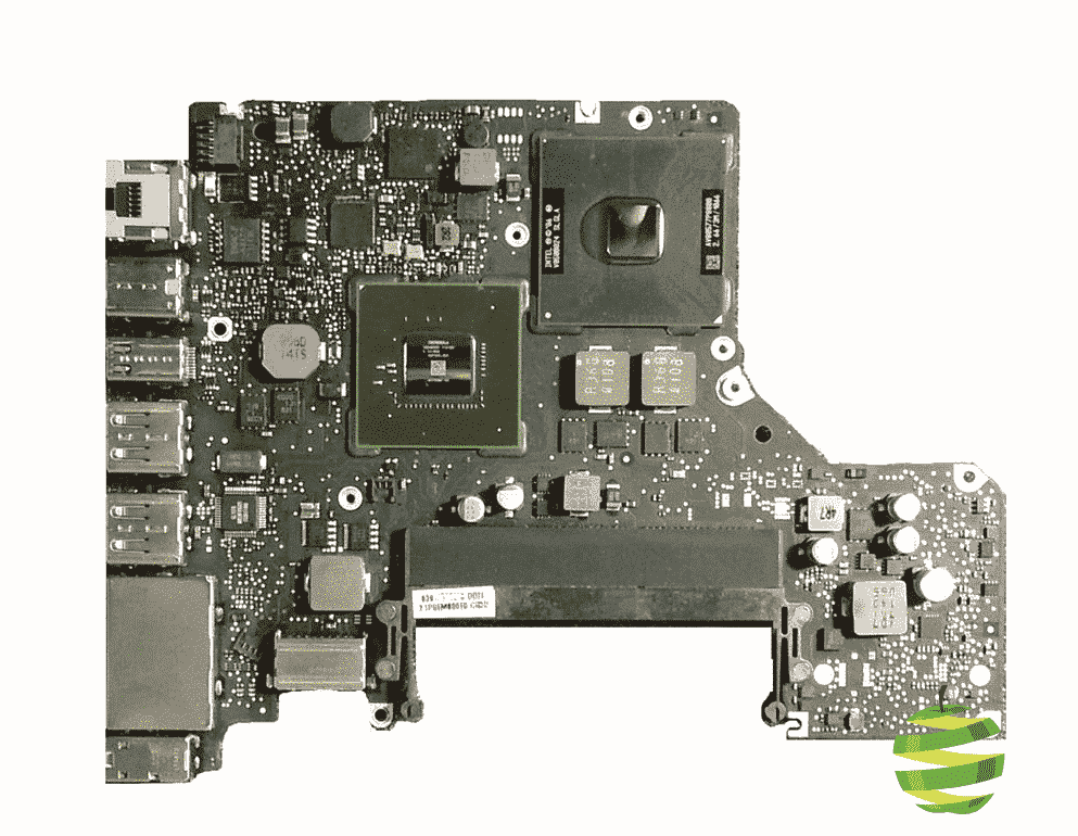 carte mere macbook pro Carte mère 2,66 GHz NVIDIA GeForce 320M Core 2 Duo 256 VRAM pour