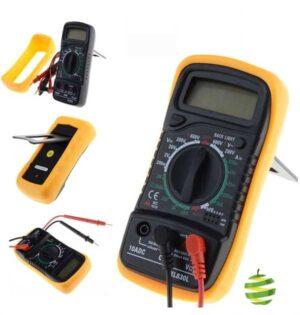 Digital-Multimètre-XL830L-Volt-Mètre-Ampèremètre-Ohmmètre-Testeur