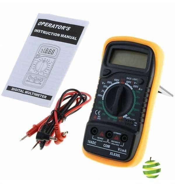 Peaktech 2005 Digital-Multimeter avec Manuel correction ~ 3 1//2 chiffres ~ 10 a