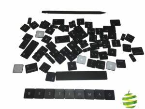 Kit de touches de clavier papillon pour MacBook Pro Retina Non Touch Bar 13 pouces A1708 complet