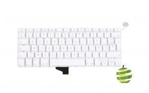 Clavier Apple AZERTY A1342 pour MacBook 13 Pouces Blanc (2009-2010)