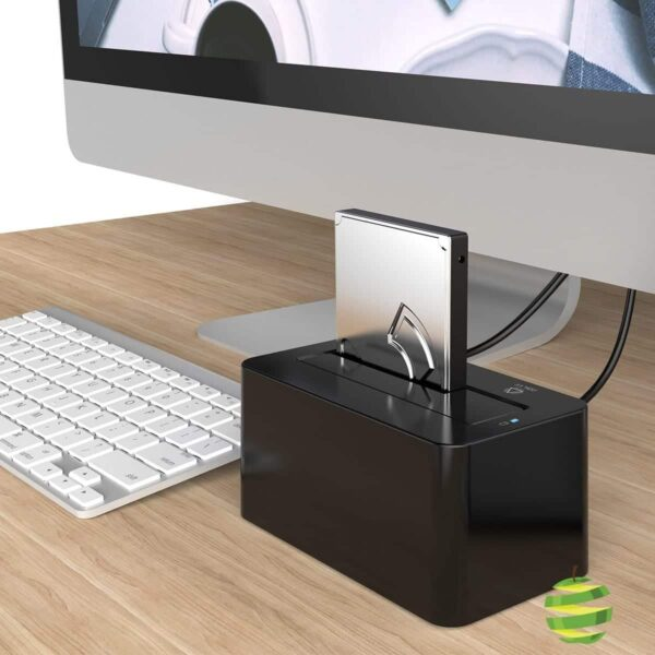 """Boitier - Station d'accueil - Dock USB 3.0 pour Disque Dur SSD SATA 2.5"""":3.5"""" Pouces BestinMac.com"""
