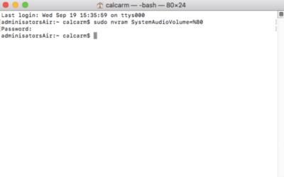 """Comment activer ou désactiver le """"DONG"""" au démarrage d'un Mac ?"""