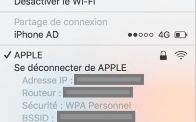 Comment connaître la vitesse de son réseau Wifi sur Mac