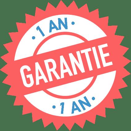 Logo Garantie 1 ans