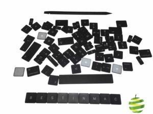 Kit de touches de clavier Azerty pour MacBook Air 13 pouces Retina A1932 complet