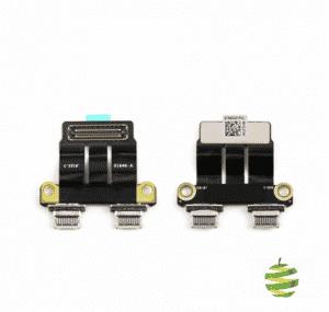 821-01646-02 ou 923-02497 Connecteur de charge DC-IN Type-C MacBook Pro Retina 13 pouces A1989 et 15 pouces A1990 (2018-2019)