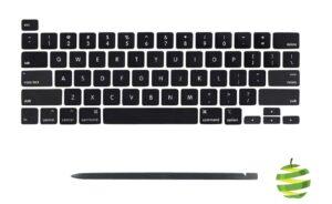 Touches et Spudger pour clavier Qwerty (US) MacBook Pro 16 pouces A2141 et 13 pouces A2289 A2251 (2019-2020)