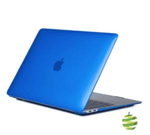 Coque de protection intégrale rigide mate pour MacBook Air 13 Pouces Retina A1932 et A2179 - Bleue Roi