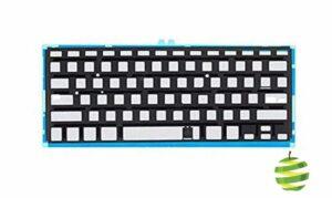 Feuille de rétroéclairage clavier Azerty (FR) pour Apple MacBook Air 13″ A1369 (2010/2011) et A1466 (2012/2017)