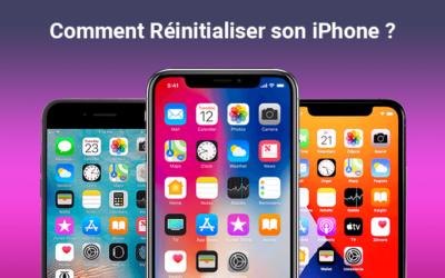 Comment Réinitialiser l'iPhone ?