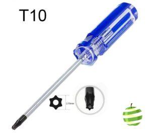 Tournevis Torx T10 Securité